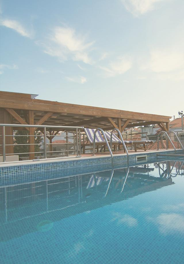 Pool & Roof Garden